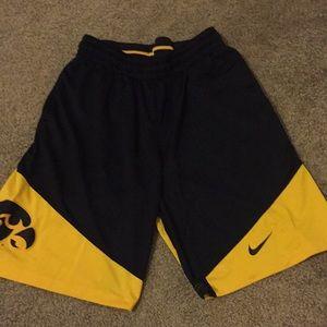 Nike Iowa Hawkeye shorts!!